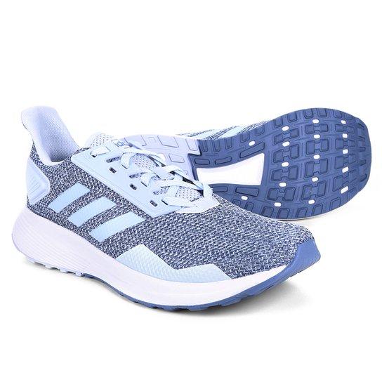 84cee37ec91 Tênis Adidas Duramo 9 Masculino - Azul e Cinza - Compre Agora