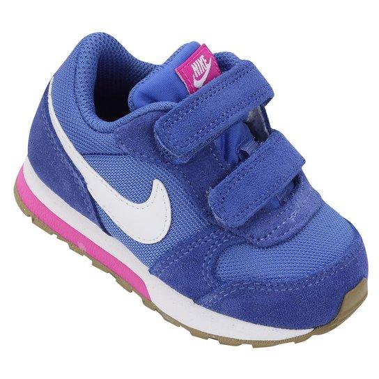 49787c8780b Tênis Infantil Nike Md Runner 2 - Azul e Branco - Compre Agora