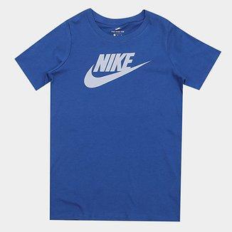 Camiseta Nike Ctn Crew Fut Icon TD Tee Infantil 223dc73b4d8e5