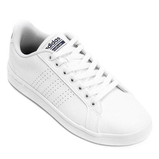 6f807a1b921 Tênis Adidas Cf Advantage Clean Masculino - Branco e Marinho ...