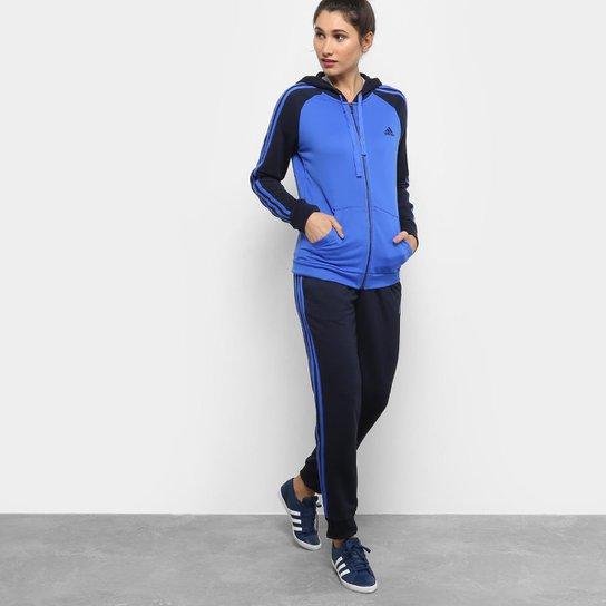 18b8acae37c Agasalho Adidas Refocus Masculino - Azul e Marinho - Compre Agora ...