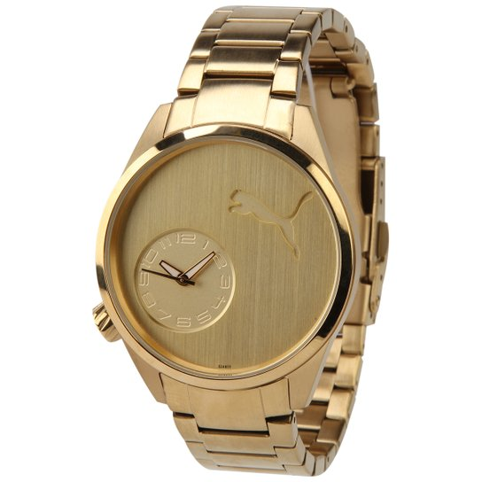 fd3fc917e2d Relógio Puma Gold - Compre Agora