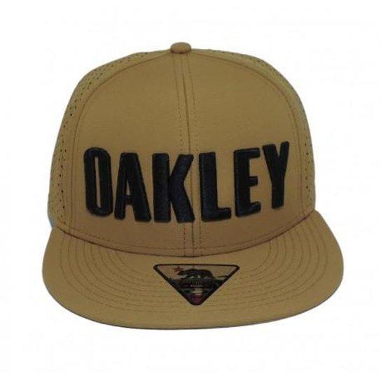 Boné Oakley Octane - Dourado - Compre Agora   Zattini 0437cc41c5