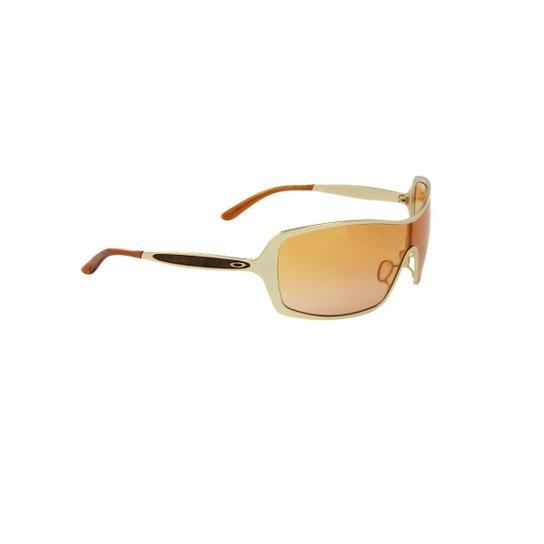 4ed8a1645 Óculos de Sol Oakley 100% Proteção UV Ópticas Melani Feminino - Dourado