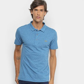 Camisa Polo Lacoste Logo Super Light Masculina 7f0cb475b0271