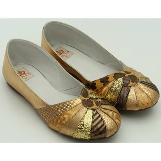 cf57d79868 Sapato Metalizado Gats
