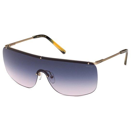 04745243a1754 Óculos de Sol Colcci 5022 Degradê Masculino - Dourado - Compre Agora ...