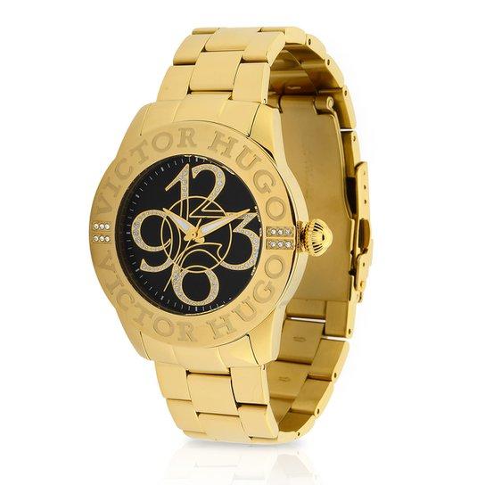78c9e547560 Relógio Victor Hugo Analógico 10038LSG 02 Feminino - Compre Agora ...