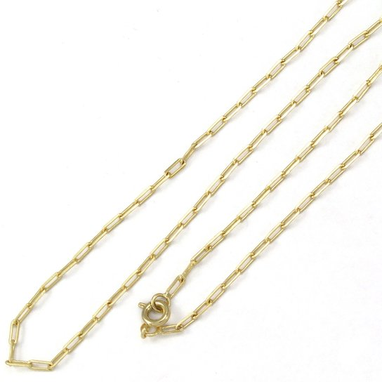 59d946a3472 Corrente Tudo Joias Cartier Folheado A Ouro 18K - Dourado - Compre ...