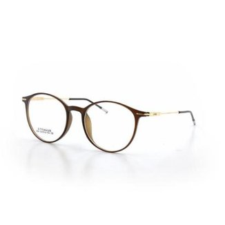 Armação De Óculos De Grau Cannes 004 T 52 C 8 Round Masculino e8ee9877b9