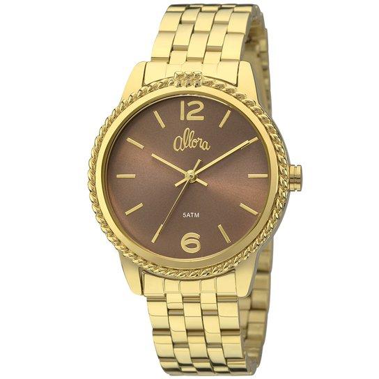 Relógio Allora Coleção Nó de Marinheiro - Compre Agora   Zattini 34a2a9f06a