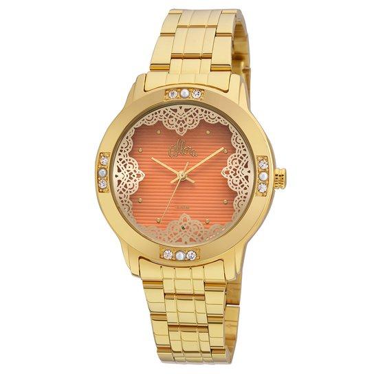 Relógio Allora Feminino Listras e Rendas - Compre Agora   Zattini a3ca44ce96