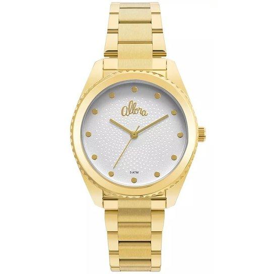 d1e4b82be9c0c Relógio Allora AL2035FMI 4K - Dourado - Compre Agora
