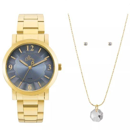 Relógio Feminino Allora Al2035fna K4a - Dourado - Compre Agora   Zattini a9d31a935b