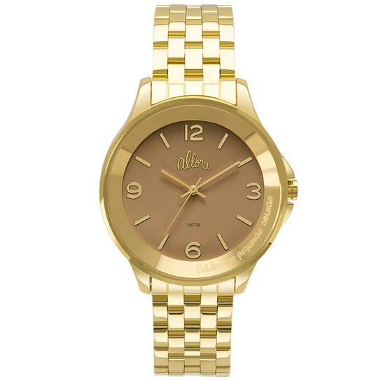 522c0c4af9f Relógio Allora Feminino Serena AL2035FMD 4M - AL2035FMD 4M - Dourado ...