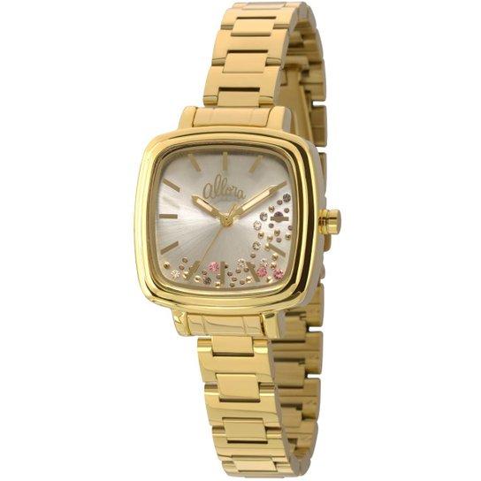 Relógio Allora Flor da Pele Brilhos - AL2036CD 4M AL2036CD 4M - Dourado b0c36fb672