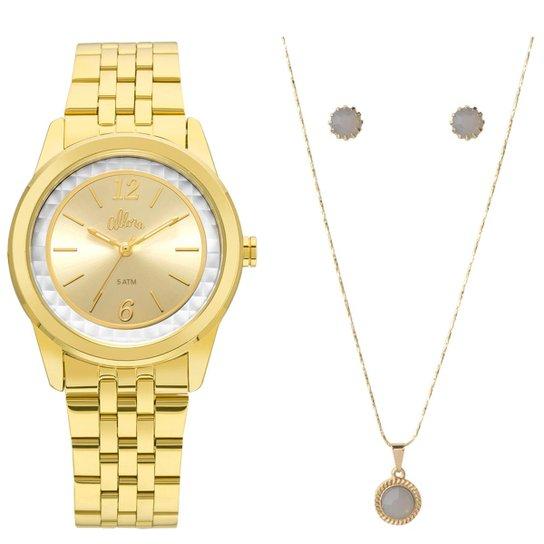1292a543b2e Relógio Allora Feminino AL2035FML K4B - Dourado AL2035FML K4B - Dourado