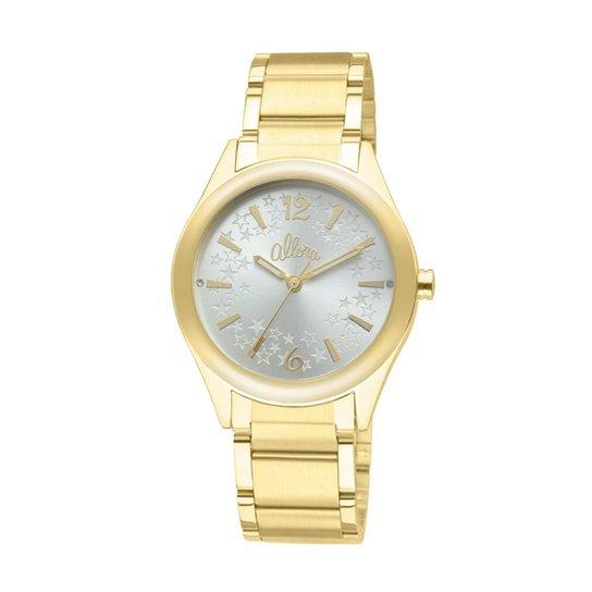 b34249b726685 Relógio Allora feminino AL2035BF 4K AL2035BF 4K - Dourado - Compre ...