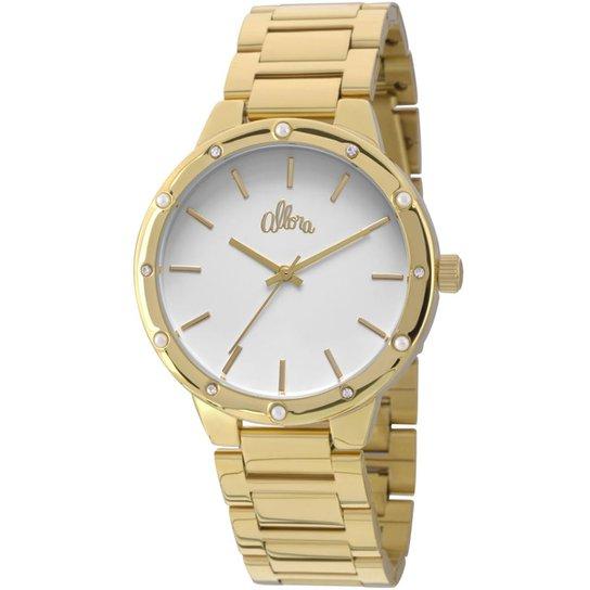 473f73efe5fbb Relógio Allora Feminino - Dourado - Compre Agora