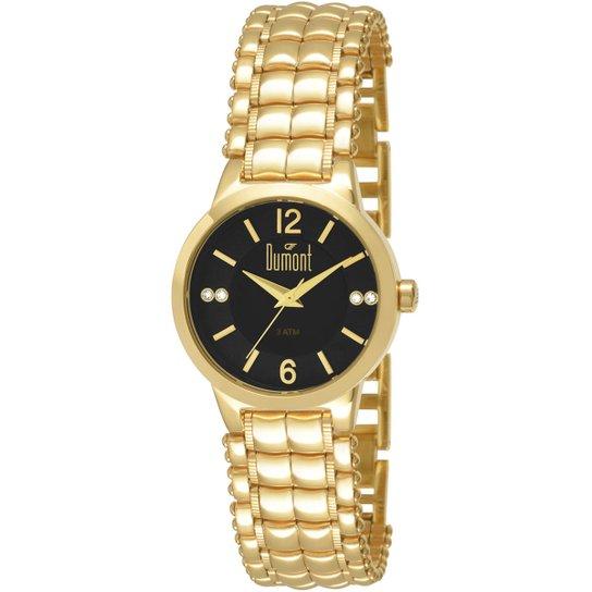 e54135db870 Relógio Dumont Analógico Pedras - Compre Agora