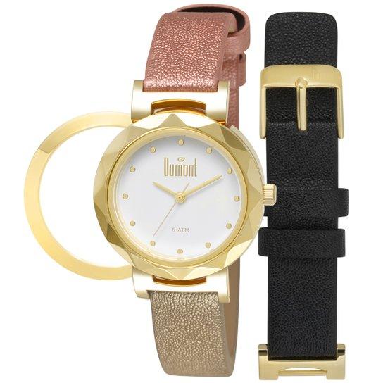 0725b11548c Relógio Dumont Analógico DU2035LUJ2B Feminino - Compre Agora