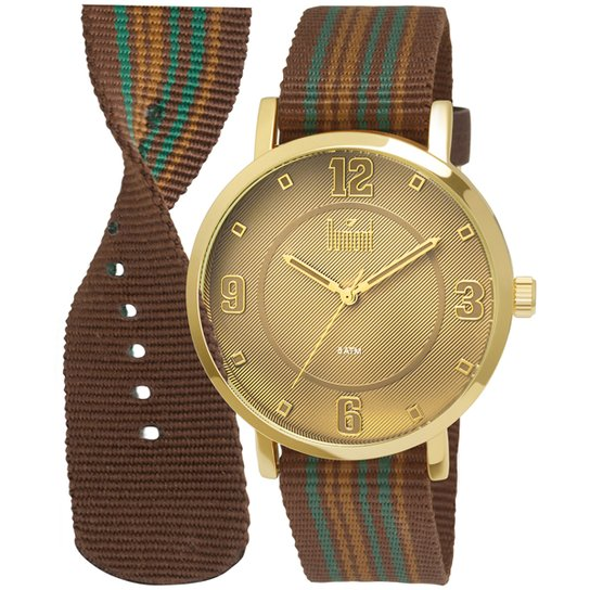 b9653da7642 Relógio Dumont Analógico DU2036MFD2B Masculino - Compre Agora