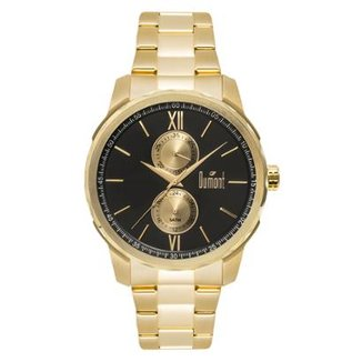 c2f77a55946 Relógio Dumont Traveller Dourado DU6P23AB 4D DU6P23AB 4D