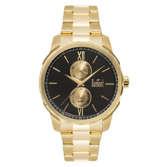 6eb9936a480 Relógio Dumont Traveller Dourado DU6P23AB 4D DU6P23AB 4D - Dourado ...