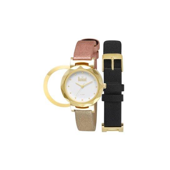 8918d1d08a1 Relógio Dumont VIP DU2035LUJ 2B Dourado DU2035LUJ 2B - Compre Agora ...