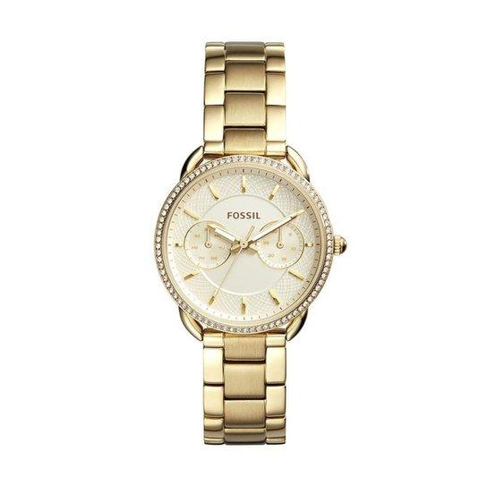 Relógio Fossil Feminino Tailor - ES4263 4DN ES4263 4DN - Dourado ... ea788a1c9f