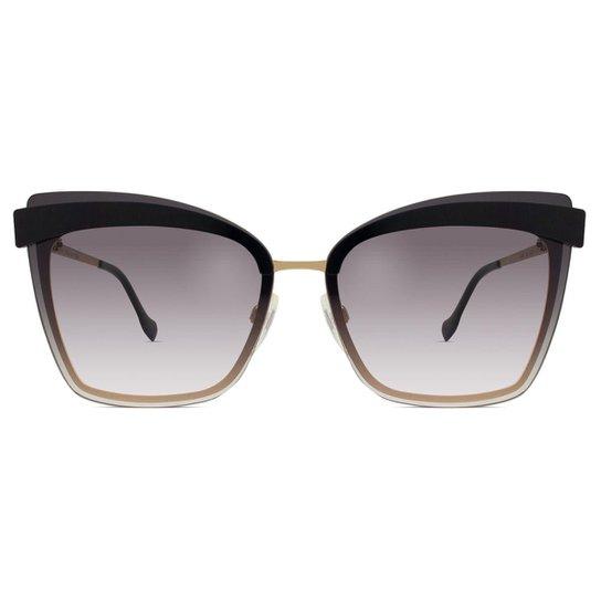 1b2dd5aac7e28 Óculos de Sol Ana Hickmann Feminino - Dourado - Compre Agora