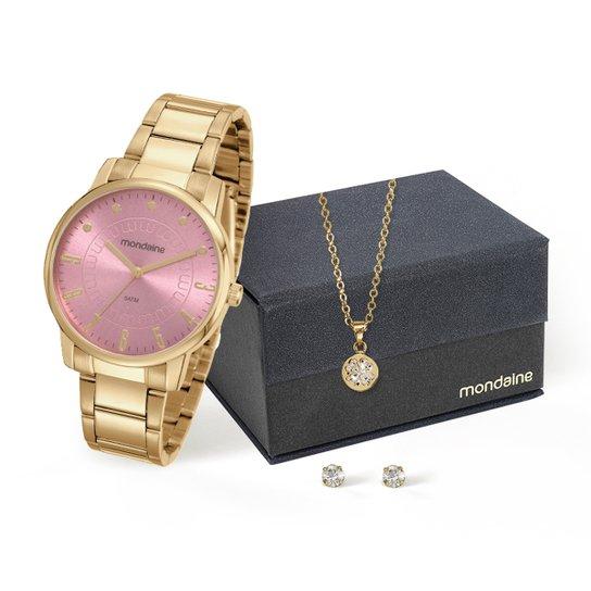 7ff8c158542 Relógio Mondaine Analógico 53576LPMVDE2K1 Feminino - Compre Agora ...
