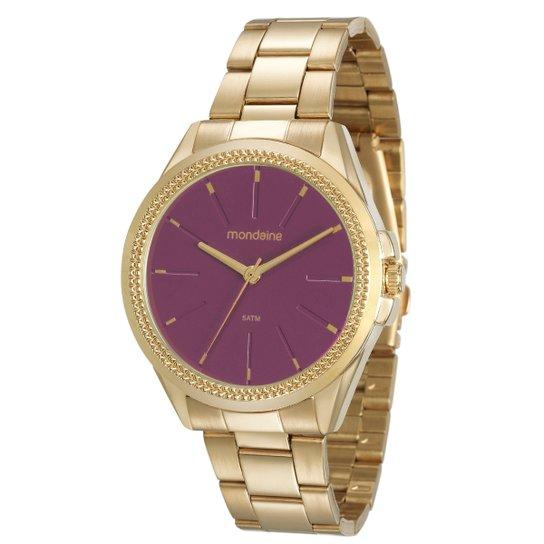 6f458947b Relógio Mondaine Analógico 53538LPMVDE3 Feminino - Dourado