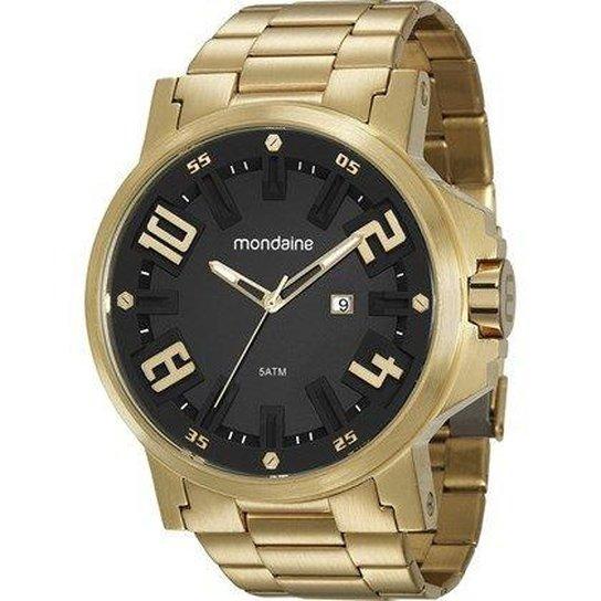 bbfe59fada8 Relógio Masculino Mondaine 99233GPMVDS1 Aço - Compre Agora
