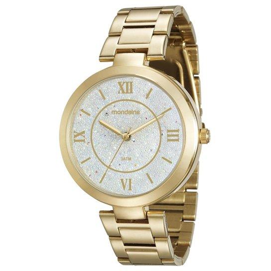 9c373dddb01 Relógio Feminino Mondaine 76615LPMVDE1 Pulseira Aço - Dourado ...
