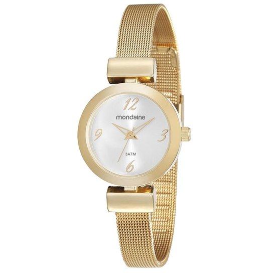 44eb3a2da15 Relógio Feminino Mondaine 53555LPMVDE1 28mm Aço - Compre Agora