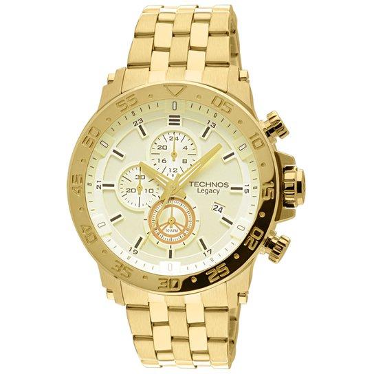 6f7eea357e8c6 Relógio Technos Legacy - Dourado - Compre Agora