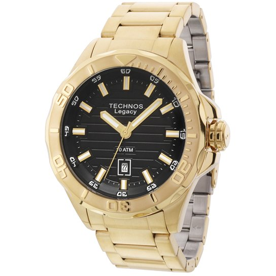 2b3bc6b858b2b Relógio Technos Classic Legacy - Dourado - Compre Agora