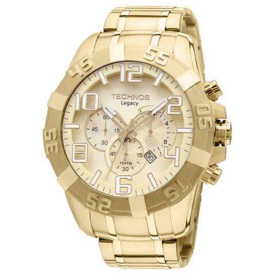 0ab79480223f1 Relógio Technos Analógico - Dourado - Compre Agora   Zattini