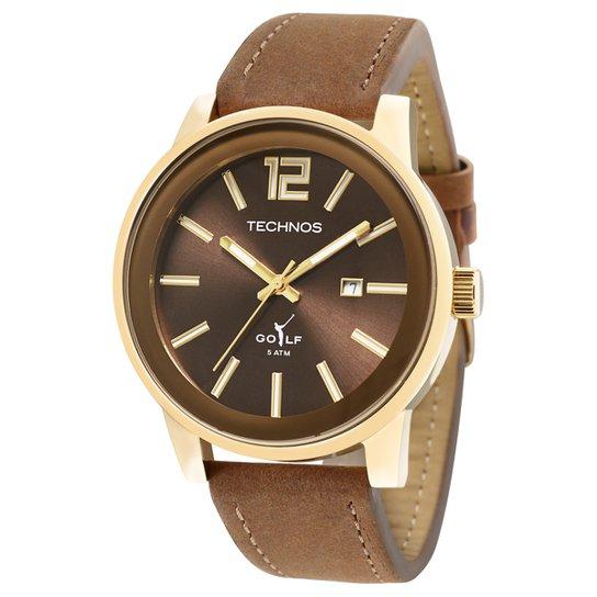 Relógio Technos Pulseira de Couro - Compre Agora   Zattini 2773b7cb73