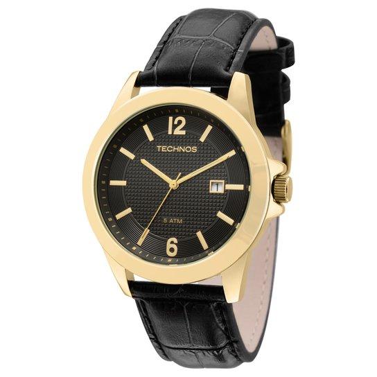 5f7bf4635f8 Relógio Technos Pulseira de Couro - Compre Agora