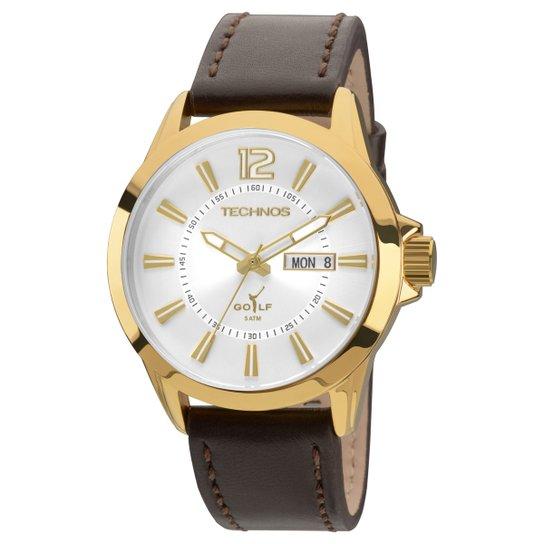 c802954be62 Relógio Technos Pulseira Couro - Compre Agora