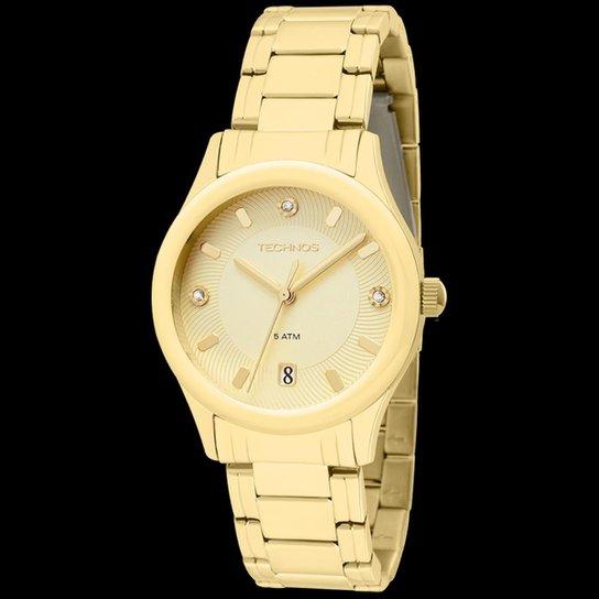 Relógio Technos Pulseira de Aço - Compre Agora   Zattini e30ff56900