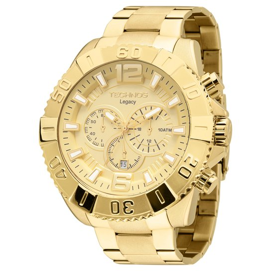 5e9cf2849b6 Relógio Technos Pulseira de Aço - Compre Agora