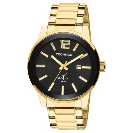 81d840e185c Relógio Technos Masculino Golf 2115TT4P - Dourado - Compre Agora ...