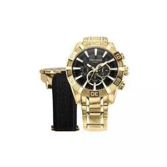 ad907166b27 Relógio Technos OS2AAJAC 4P Dourado 55mm com Pulseiras Adicionais