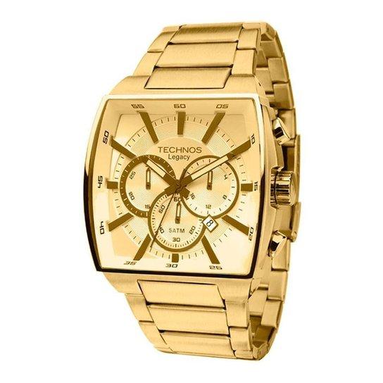 91ab1e7893 Relógio Technos Classic Legacy JS25AL 4X 45mm - Dourado - Compre ...