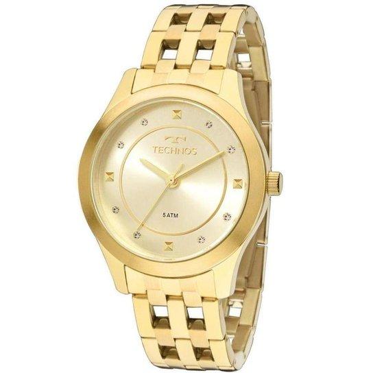 54dc239979bad Relógio Feminino Technos Analógico - Dourado - Compre Agora