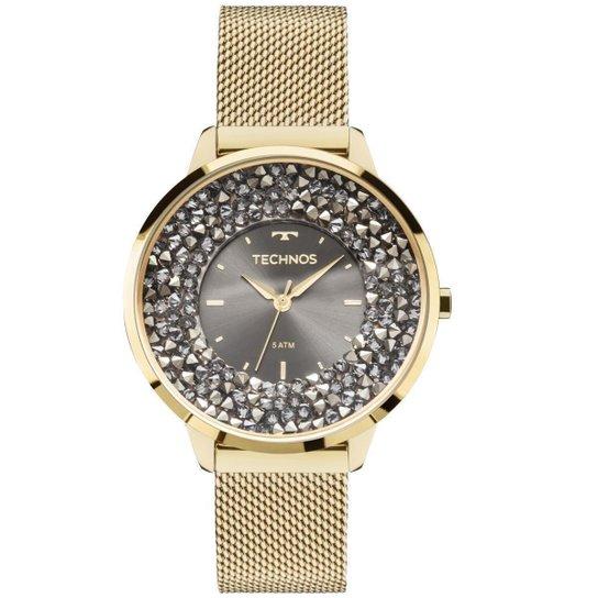 714d2788fa2 Relógio Feminino Technos 2035MLG 4C Pulseira Aço Dourada - Compre ...