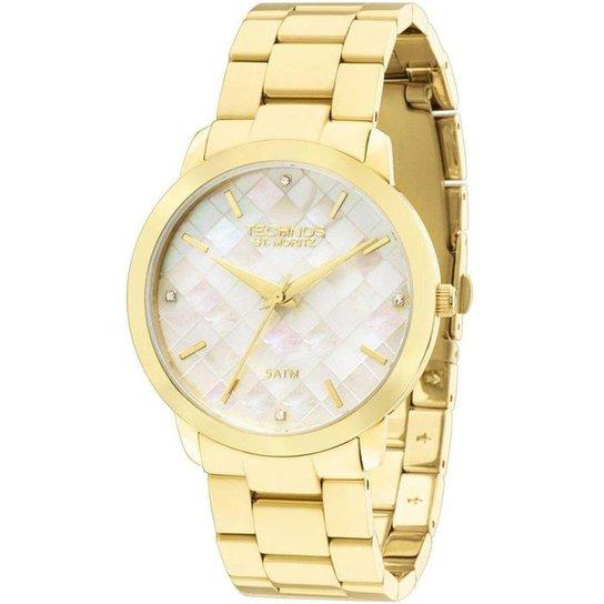 63366b2e945 Relógio Technos feminino 2036LNA 4B - Dourado - Compre Agora